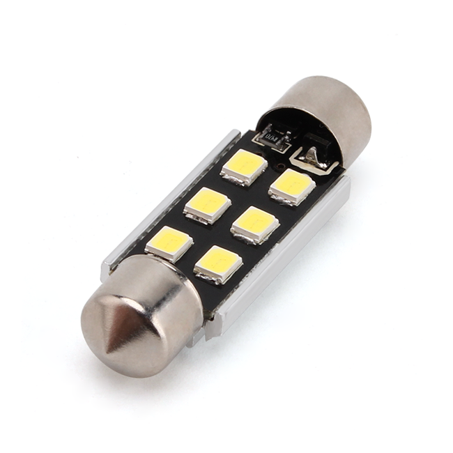 Led Auto Sofit 41mm Canbus 6 SMD 2835 - SUPER BRIGHT