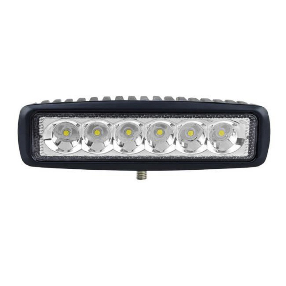 Proiector LED Auto Offroad 18W/12V-24V, 1320 Lm, Lungime 16 cm, Spot Beam 25°