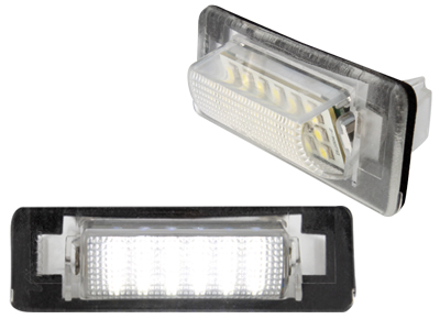 Set Lampi Numar Led Mercedes-Benz W202, W210 - BTLL-014