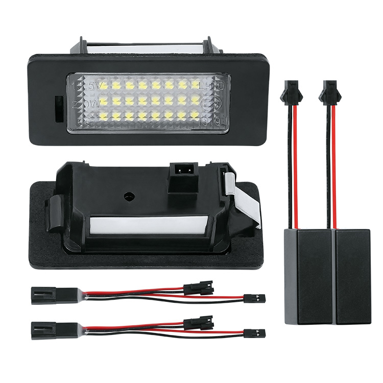 Set Lampi Numar Led VW Touareg, Touran, Sharan - BTLL-074