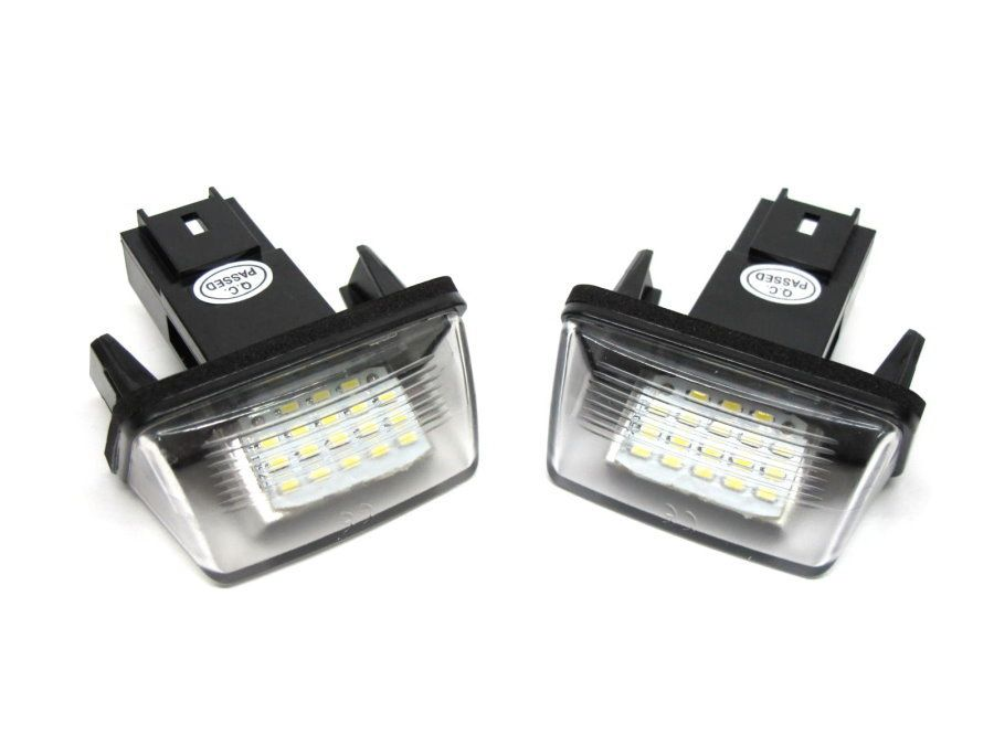 Set Lampi Numar Led Peugeot 307, 308, 5008, Partner - BTLL-046