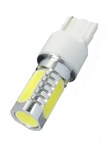 Led auto T20 7440 6W High Power Alb SIMPLA INTENSITATE